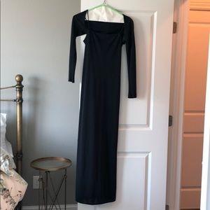 Vintage Laundry by Shelli Segal formal black dress